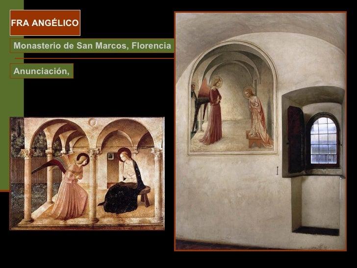 FRA ANGÉLICO Monasterio de San Marcos, Florencia Anunciación,
