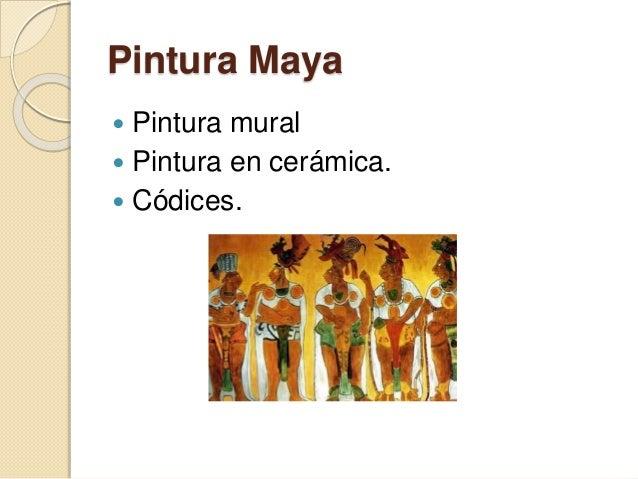 Pintura y escultura maya for Definicion de pintura mural
