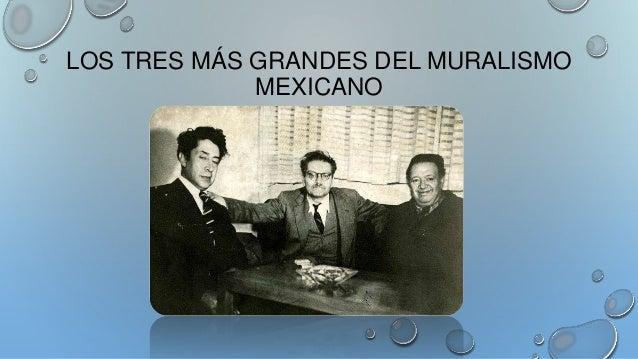 Muralismo mexicano los tres grandes for Mural prepa 1 uaemex