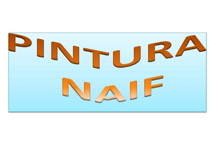 PINTURA NAIF<br />