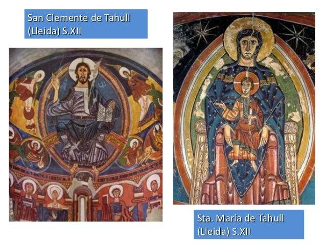 Resultado de imagen de pintura romanica españa