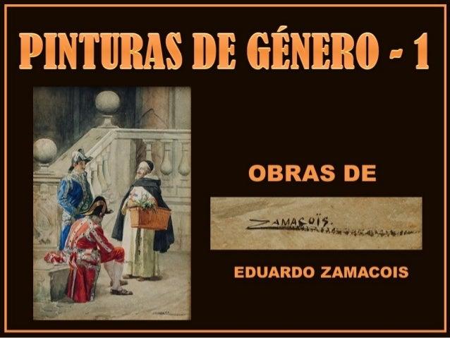 PINTURAS DE GÉNERO-1-OBRAS DE EDUARDO ZAMACOIS ZABALA