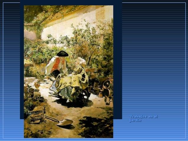 Trabajos en elTrabajos en el jardínjardín