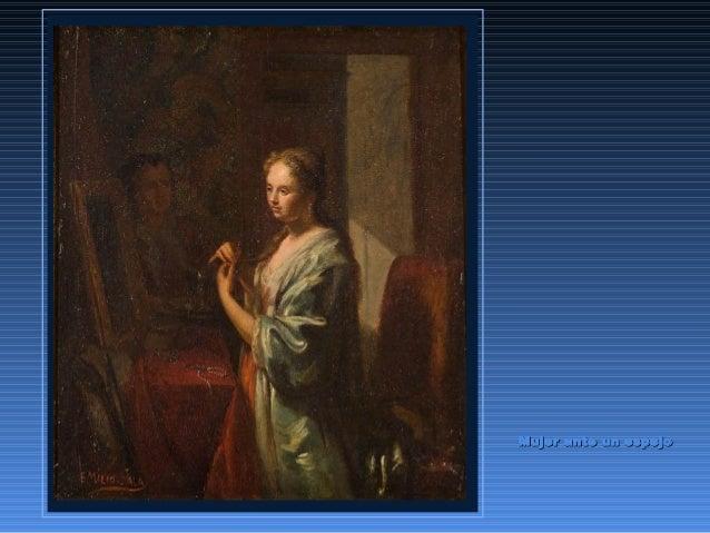 Mujer ante un espejoMujer ante un espejo