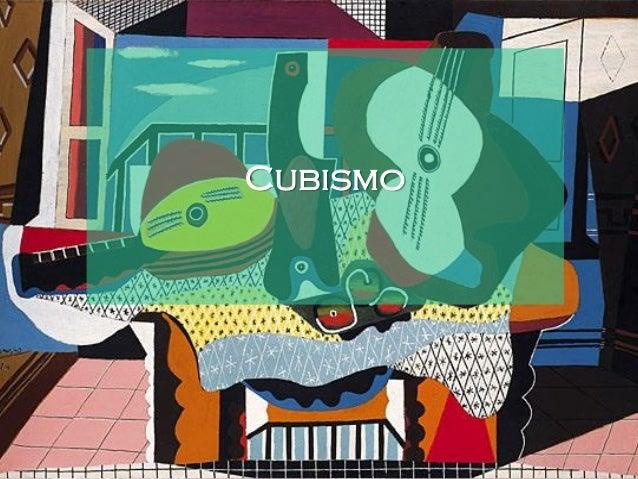 Introdução O Cubismo foi um dos movimentos mais importantes para a Arte do século XX. Nasceu das experiências formais e té...