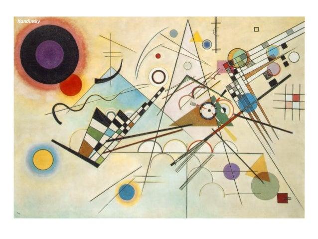 Abstracionismo Geométrico Ao contrário do abstracionismo lírico o abstracionismo geométrico está ligado à racionalização p...