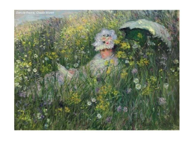 Nascer do sol, Claude Monet Análise técnico -formal: • Pinceladas soltas que tentam retratar os movimentos da cena retrata...