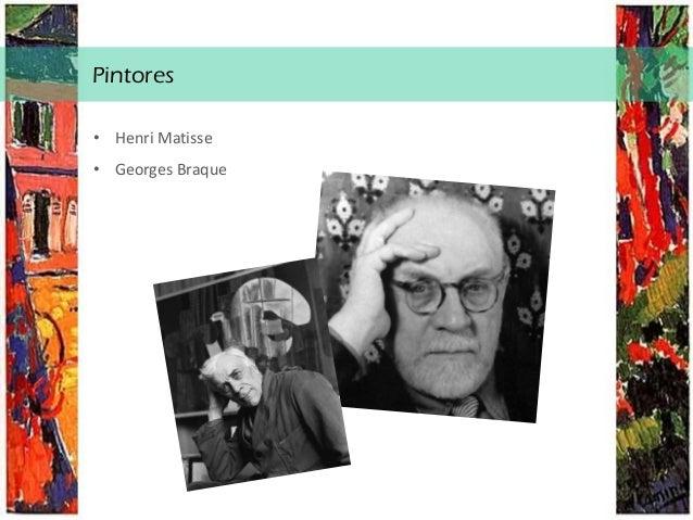 A dança, Matisse Análise técnico -formal: • Cores intensas ; • Uso de formatos planos, grandes, simples e com traços largo...