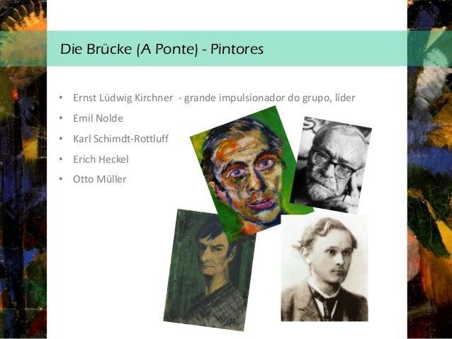 Retrato de Gerda, Ernst Ludwig Kirchner Análise técnico -formal: • É um retrato, que foi uma das temáticas preferidas do e...