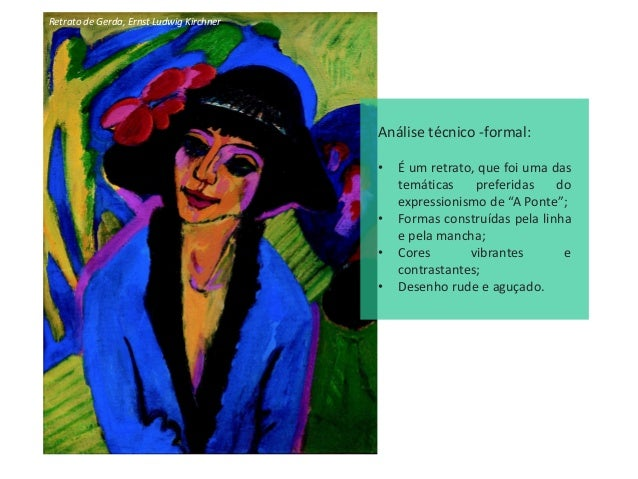 A Artista, Ernst Ludwig Kirchner