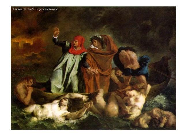 A barca de Dante, Eugène Delacroix