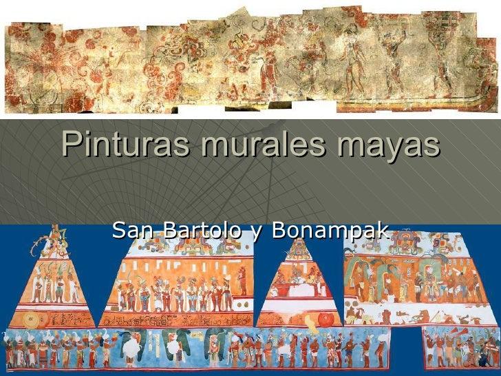 Pinturas Murales Mayas