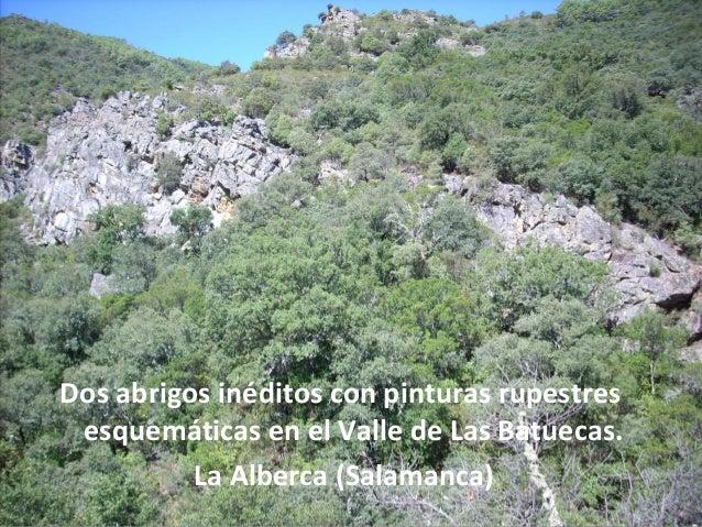 pinturas rupestres valle batuecas la alberca sa 2011