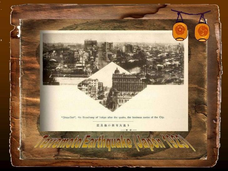 Terremoto/Earthquake (Japón 1923)