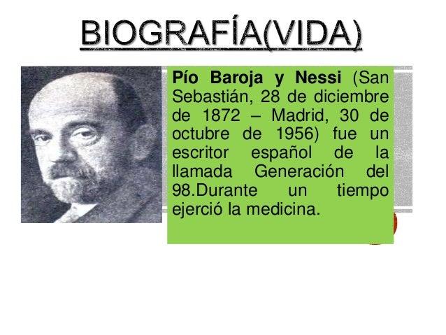 Pío Baroja  Slide 3