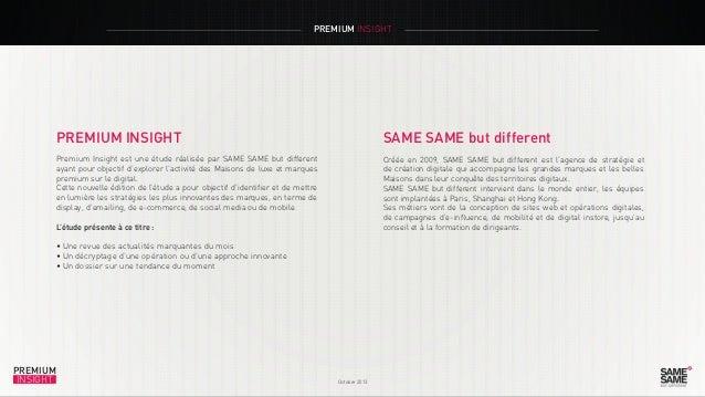 Premium Insight Octobre 2013 fr Slide 2