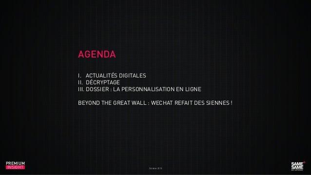 Premium Insight Octobre 2013 fr Slide 3
