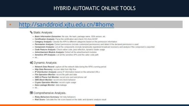 Testing Android Security - Jose Manuel Ortega Candel