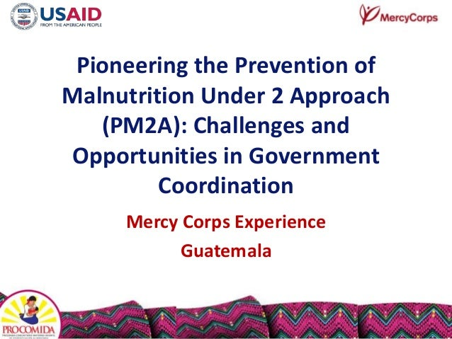 Pioneering the Prevention of Malnutrition Under 2 Approach (PM2A): Challenges and Opportunities in Government Coordination...