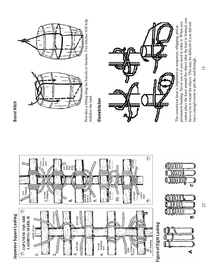 rope knot tying guide pdf