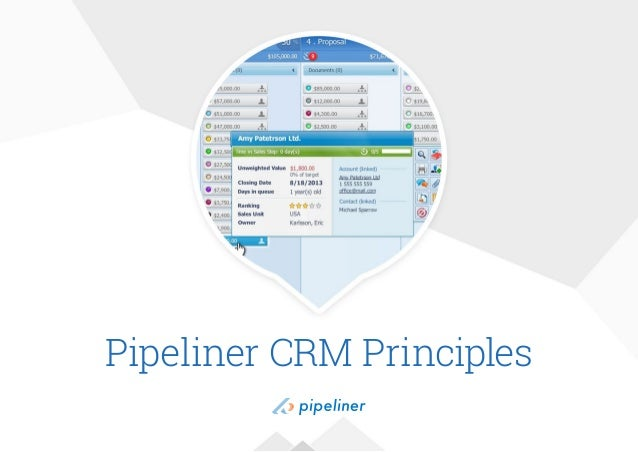Pipeliner CRM Principles