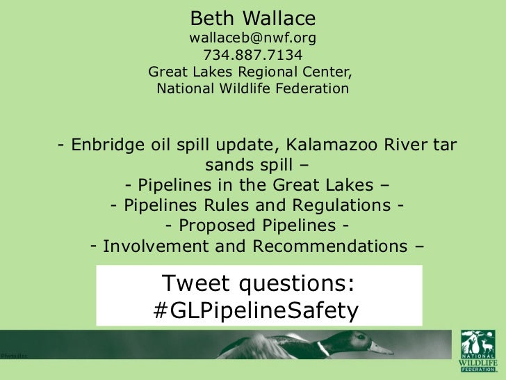 Beth Wallace                wallaceb@nwf.org                 734.887.7134          Great Lakes Regional Center,           ...