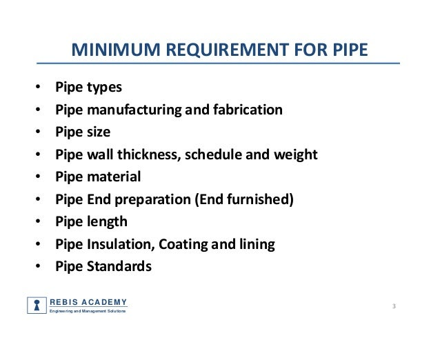 Piping components materials codes and standards part 1 pipe for Types of plumbing pipes materials