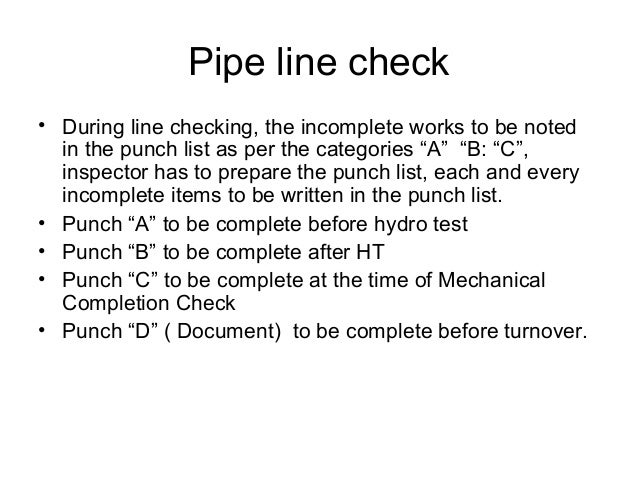 Piping Welding Notes For Beginners