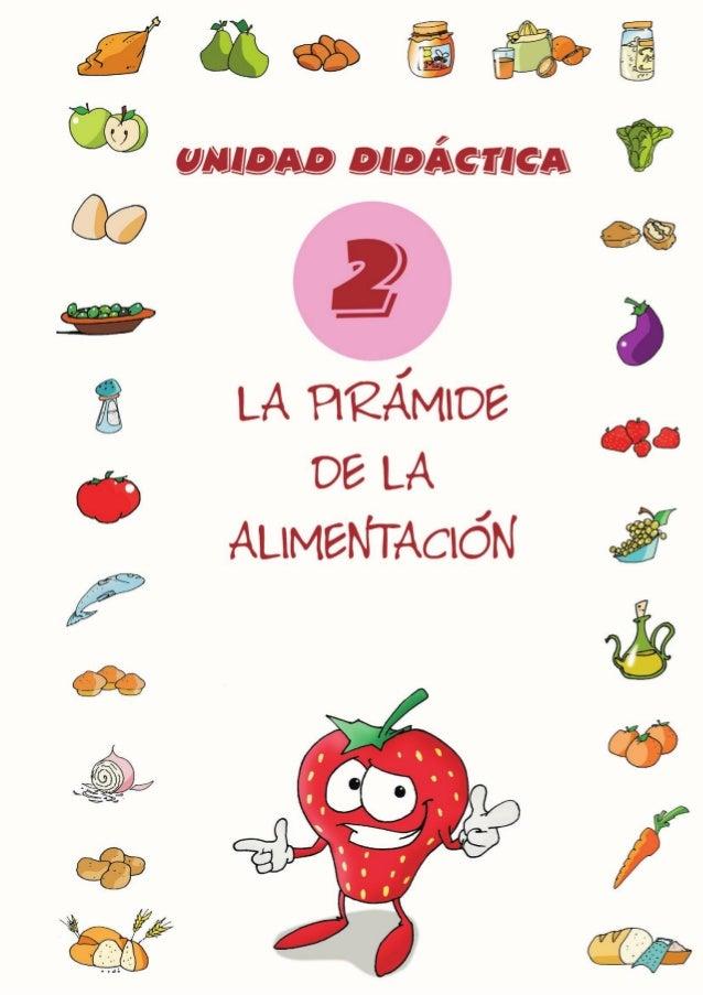 UNIDAD DIDÁCTICA 2. LA PIRÁMIDE DE LA ALIMENTACIÓN 2.1. Objetivos - Establecer la relación entre la alimentación equilibra...