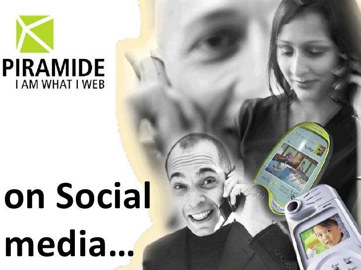 on Social media…<br />