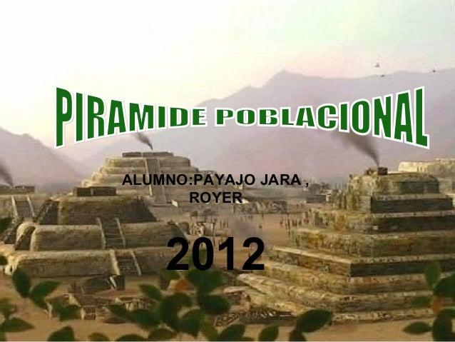 ALUMNO:PAYAJO JARA ,      ROYER    2012