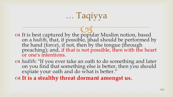 It is best captured by the popular Muslim notion, based on a hadith, that, if possible, jihad should be performed by the h...