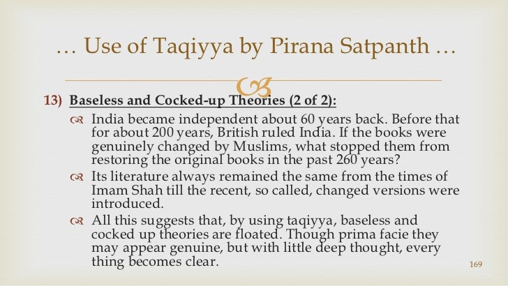 Baseless and Cocked-up Theories (2 of 2):<br />India became independent about 60 years back. Before that for about 200 yea...