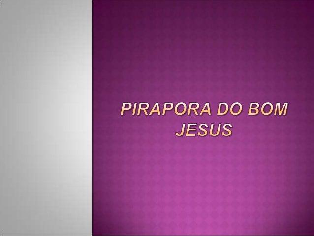 Pirapora do Bom Jesus é um município da Região Metropolitana de São Paulo, no estado de São Paulo, no Brasil.  Bandeira  B...