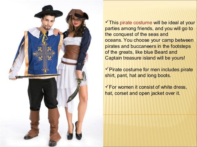 2. ?This pirate costume ...  sc 1 st  SlideShare & Pirate Costumes for Men and womens Pirate Outfits