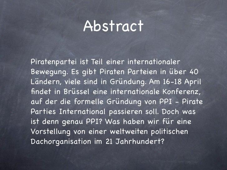 Piraten Aller Länder, Vereinigt Euch Slide 2