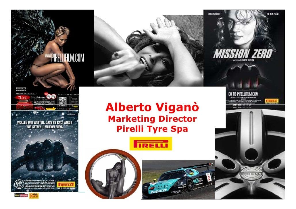 Alberto Viganò     Marketing Director      Pirelli Tyre Spa     Convention 6 May 2008, Rome
