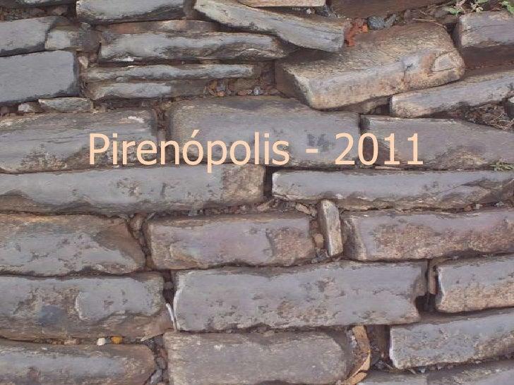 Pirenópolis - 2011<br />