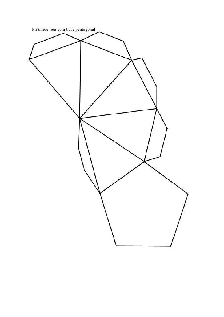 Pirmide com base pentagonal
