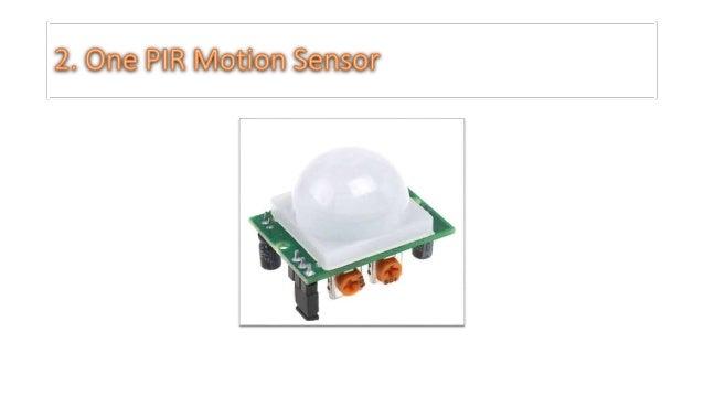 Pir motion sensor with raspberry pi