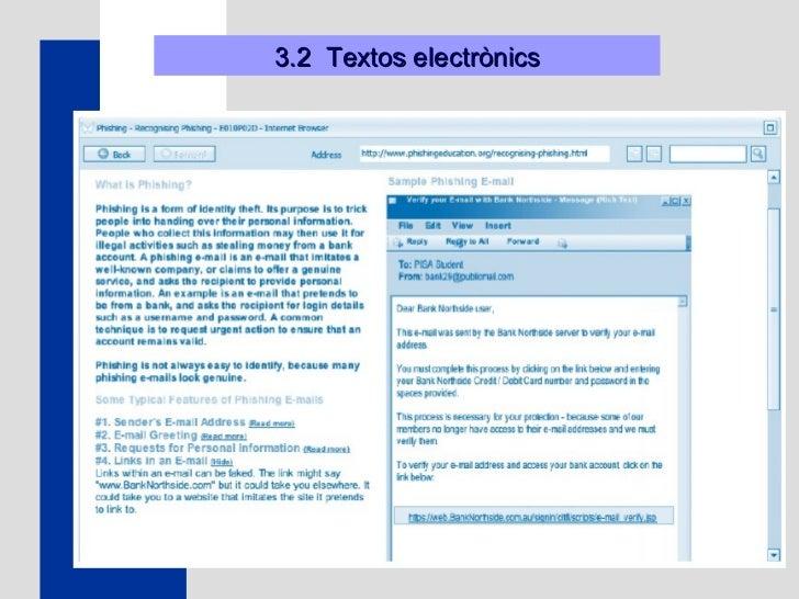 3.2  Textos electrònics