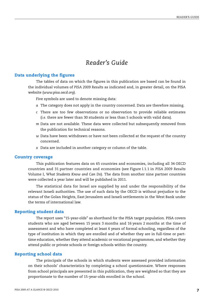READER'S GUIDE                                            Reader's GuideData underlying the figures               The tabl...