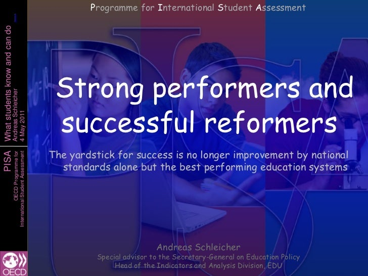 Programme for International Student Assessment                       1                       1What students know and can d...