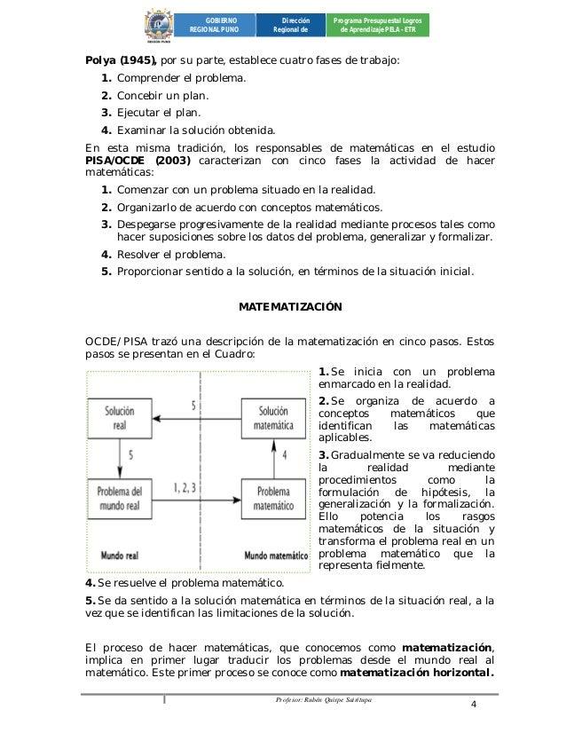 Profesor: Rubén Quispe Sairitupa 4  GOBIERNO  REGIONAL PUNO  Dirección  Regional de  Programa Presupuestal Logros  de Apre...