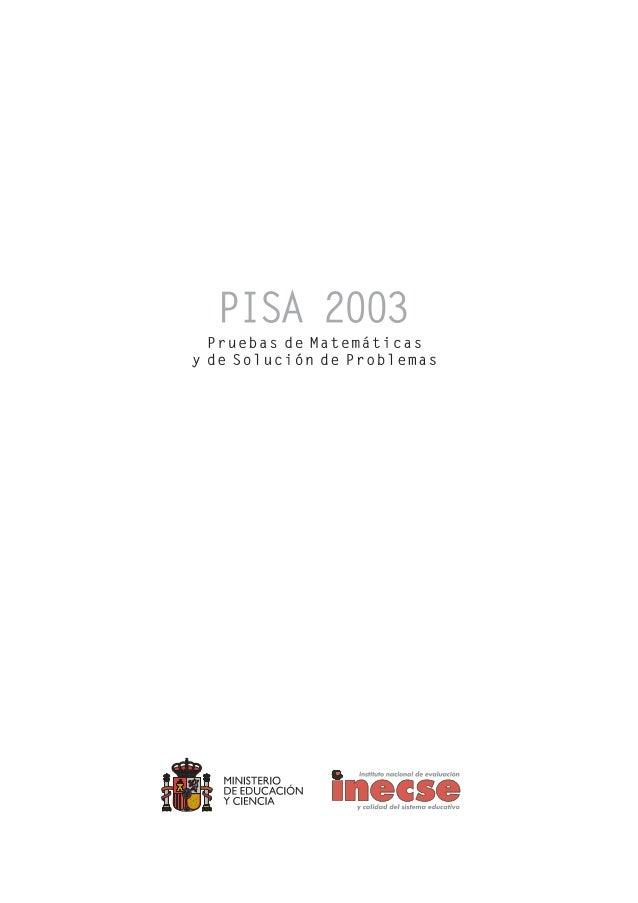 PISA Prueba de solución de problemas
