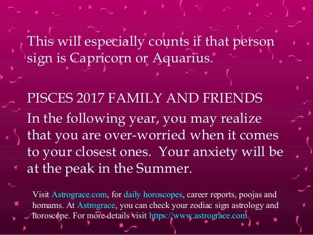 Pisces 2017 predictions