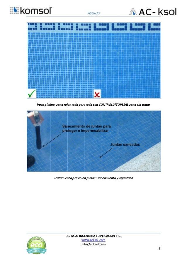 Nanocristalizacion permite reparacion de piscinas sin obra - Piscinas sin obra ...