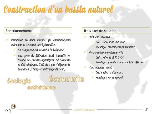Bassin de baignade naturel By Hopineo Slide 3