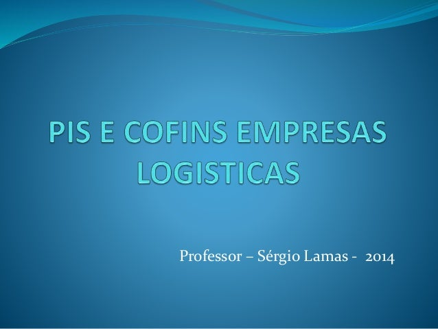 Professor – Sérgio Lamas - 2014