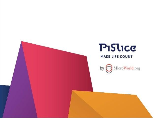 1  THE STORY  Pi Slice is born  e  Partnership  f  MFI Selection  g  MFI Integration  h  3  Entrepreneurship Story  d  Pro...